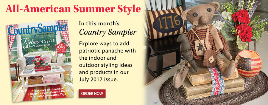 Explore ways to add patriotic panache with the indoor and outdoor styling ideas and products in our July 2017 issue.