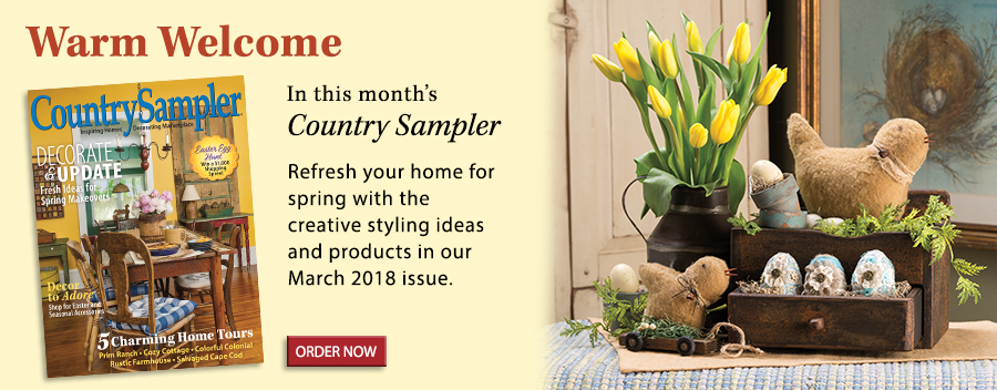 Refresh your home for spring with the creative styling ideas and products in our March 2018 issue.