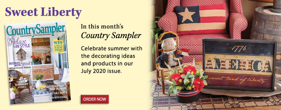 Celebrate summer with the decorating ideas and products in our July 2020 issue.
