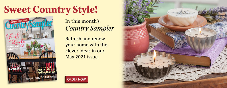 Spring is in full swing throughout the refreshing country homes featured in our May 2021 issue!