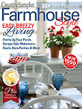 Country Sampler Farmhouse Style Summer 2019