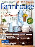 Country Sampler Farmhouse Style Autumn 2021