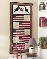 Country Crow Quilt E-pattern