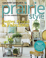 Country Sampler's Prairie Style Winter 2015