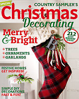Country Sampler's Christmas Decorating 2016