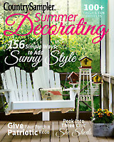 Country Sampler's Summer Decorating 2017