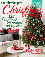 Country Sampler Christmas Decorating 2017