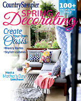 Country Sampler Spring Decorating 2018