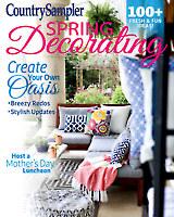Country Sampler Spring Decorating 2018