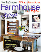 Country Sampler Farmhouse Style 2019 Spring