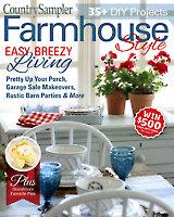 Country Sampler Farmhouse Style Summer 2019