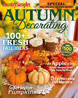 Country Sampler Autumn Decorating 2019