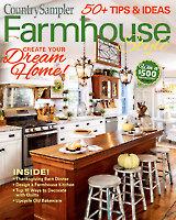 Country Sampler Farmhouse Style Autumn 2019