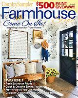 Country Sampler Farmhouse Style Spring 2020