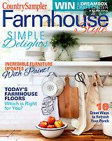 Country Sampler Farmhouse Style Spring 2021