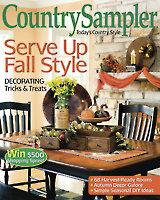 August/September 2014 Country Sampler