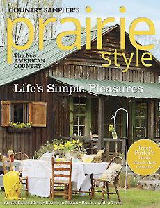 Country Sampler's Prairie Style Spring 2015