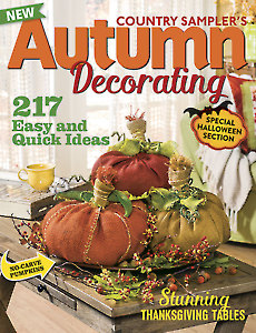 Country Sampler's Autumn Decorating 2015