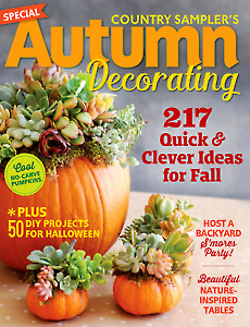 Country Sampler's Autumn Decorating 2016