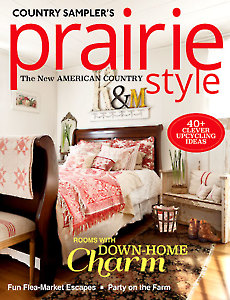 Country Sampler's Prairie Style Winter 2017