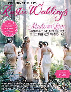 Country Sampler's Rustic Weddings 2017