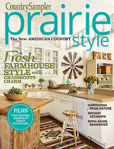 Country Sampler's Prairie Style Summer 2017