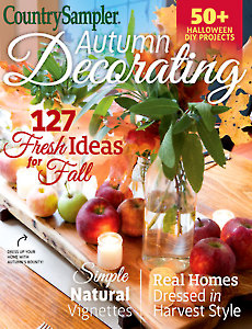Country Sampler Autumn Decorating 2017