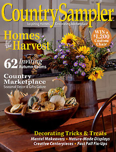 August/September Country Sampler 2017