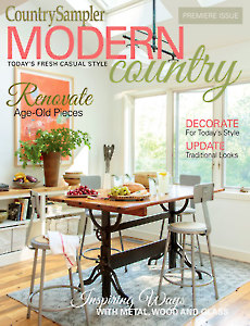 Magazines - Modern Country - Country Sampler Modern Country 2017