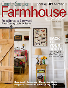 Country Sampler Farmhouse Style 2018
