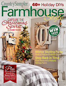 Country Sampler Farmhouse Style 2018 Holiday