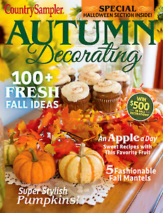 Country Sampler Autumn Decorating 2019