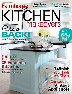 Country Sampler Farmhouse Style Kitchen Makeovers 2021