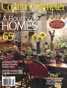 August/September 2008 Country Sampler