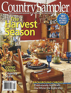 August/September 2012 Country Sampler