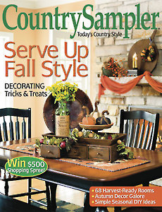 August/September 2014 Country Sampler