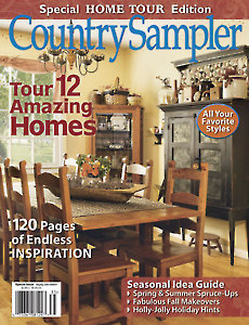 Country Sampler's Home Tour Edition 2013