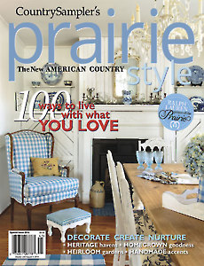 Country Sampler's Prairie Style Spring 2014