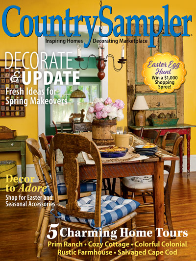 Magazines - Country Sampler - February/March Country Sampler ...