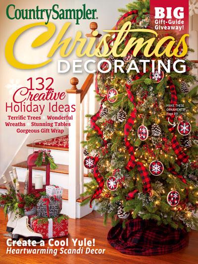 Magazines Country Sampler Christmas Decorating 2018 Cm65129