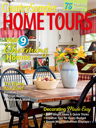 Magazines - Home Tours - Country Sampler Home Tours 2019