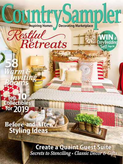 Magazines - Country Sampler - December/January Country ...