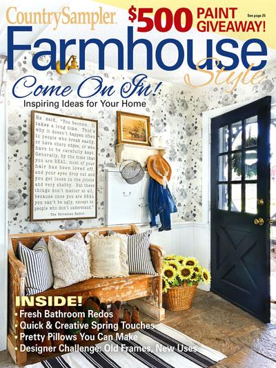Magazines Farmhouse Style Country Sampler Farmhouse Style Spring 2020