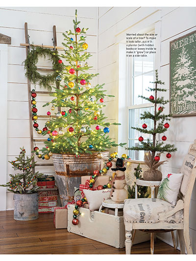 Magazines Farmhouse Style Country Sampler Farmhouse Style Holiday 2019